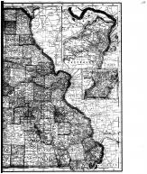 Missouri State Map - right, Boone County 1917